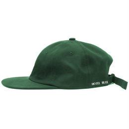 HOTEL BLUE Side Logo Hat (Dark Green)