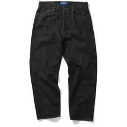 Lafayette 5POCKET WASHED DENIM BAGGIE PANTS (BLACK)