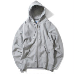 【再入荷】Lafayette OUTLINE LOGO US COTTON ZIP PARKA SWEATSHIRT (GRAY)