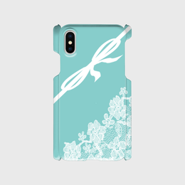 iphone リボン&レース柄♡スマフォケース・♪iPhone 5/5 s/ 5c/ 6/ 6s/ 7/ 8/ SE/ X対応