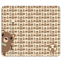 19-04TNCo*サンビキノクマの帯なし手帳型スマホケースC