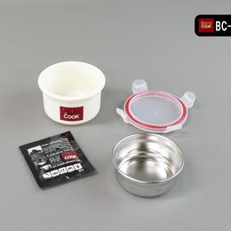 BC-001 バロクック 加熱式ランチボックス 丸型Sサイズ 容量270ml