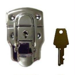 パッチン錠 P-163 鍵付 S-085