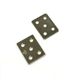 ジョイントミニ平板 ニッケル 18x25(2個入)C-769