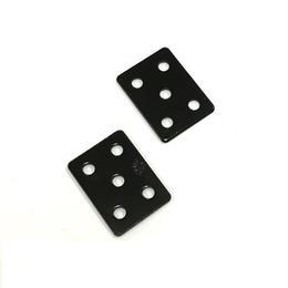 ジョイントミニ平板 黒 18x25(2個入)C-765