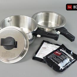 BC-009 バロクック 加熱式ポータブル鍋 容量1600ml