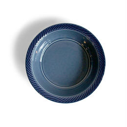 blur 17cm deep plate 藍
