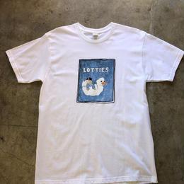 Lottie's skateshop T-shirts(white