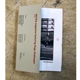 Notes magazine feat. Hugo Snelooper