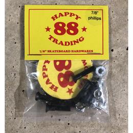 """88 Skateboard  Hardwares 7/8"""" phillips"""