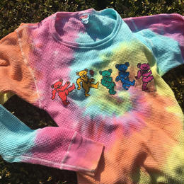 GRATEFUL DEAD  DEAD  BEAR  Tie Dye  TOPS