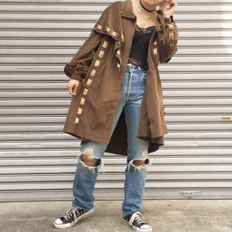 suede  reopard  coat