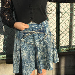 chemicaldenim skirt