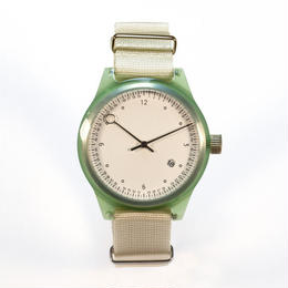 Squarestreet watches - Minuteman - Two Hand - Green