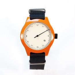 Squarestreet watches - Minuteman - One Hand - Orange
