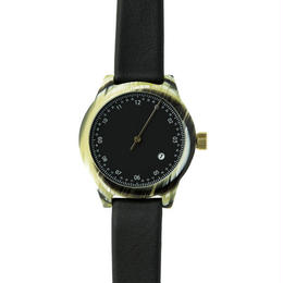 Squarestreet watches - Minuteman - One Hand - Horn / Black