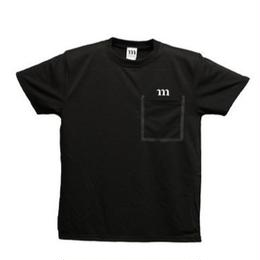 "DRY ATHLETIC ""m"" TEE/P (ブラック)"