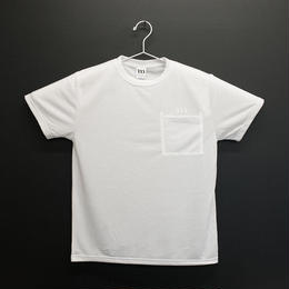 "DRY ATHLETIC ""m"" TEE/P ( ホワイト)"