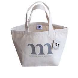 LUNCH BAG M PRINT  (グレー)