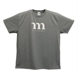 "DRY ATHLETIC ""M"" TEE(グレー)"