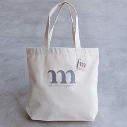 TOTE BAG M PRINT(グレー)
