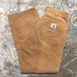 80's~ Carhartt Double Knee Painter Pants BROWN