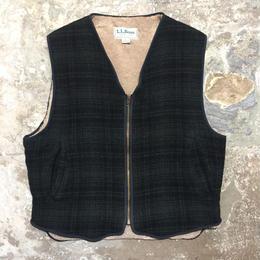 90's~ L.L.Bean Wool Vest