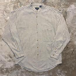 Cotton Band Collar Shirt
