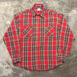 70's BIG MAC Heavy Flannel Shirt RED