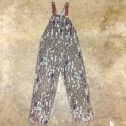 80's~ Carhartt Tree Bark Camo Overall