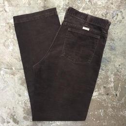 80's Wrangler Corduroy Pants BROWN