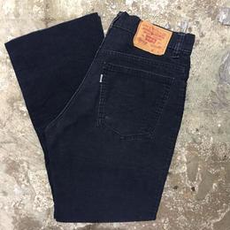 80's Levi's 517 Corduroy Pants DARK NAVY