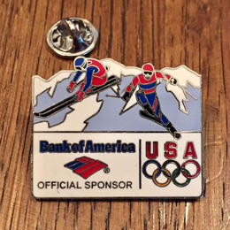 Bank of America USA Olympic Pins