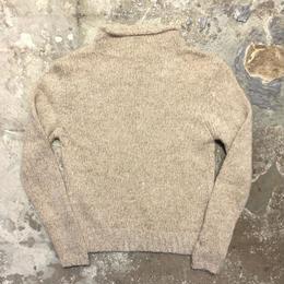 80's~  VENTILO Mock Neck Mohair Sweater