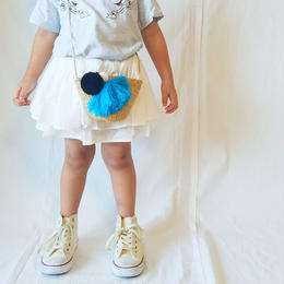 ❢❢SALE❢❢ 韓国子供服✭ ダブルフリルスカート ✭