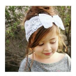 ❢❢SALE❢❢ 韓国子供服✭ レースヘアバンド ✭