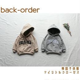 【予約商品】【送料無料】韓国子供服 ✭ コロンビア パーカー ✭