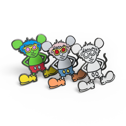 Andy Mouse Enamel Pin