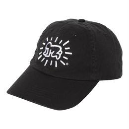 POP SHOP Keith Haring Baseball Cap (Baby) Black
