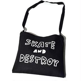 Keith Haring × THRASHER  サコッシュ バッグ (ブラック)