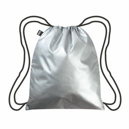 LOQI  Metallic Silver  BackPacks