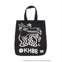 Keith Haring Tote Bag / BLACK
