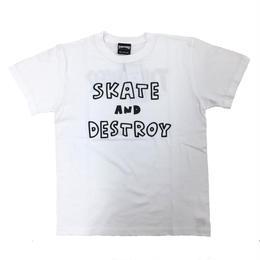 Keith Haring × THRASHER MAG LOGO T-shirts  White