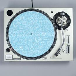 Turntable Lab Record Mat 【Blue】 / レコードマット (1枚組)【ブルー】