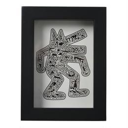 Framed Postcard  額装ポストカード (Dog,1985)
