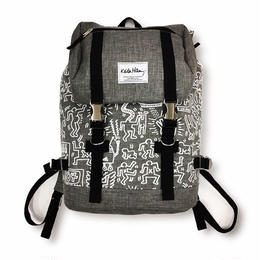 Keith Haring Bag Pack  (Grey)