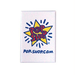 Keith Haring Rectangular Magnet (Pop Shop Logo)