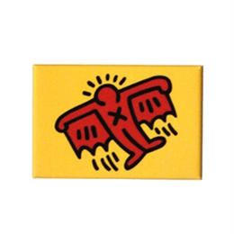 Keith Haring Rectangular Magnet (Batman)