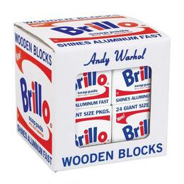 Warhol Brillo Wooden Blocks
