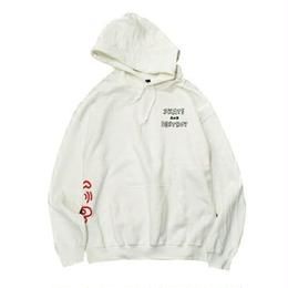 Keith Haring × THRASHER One Point Hoodie White